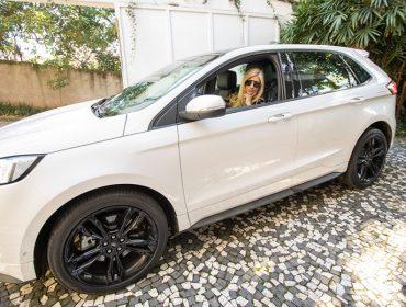 Testado e aprovado: Alessandra Campiglia entrega suas impressões sobre o novo Ford Edge ST