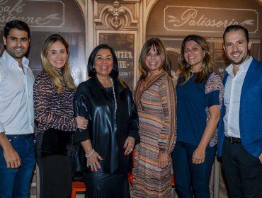 Designer Jóia Bergamo celebrou com amigos e familiares mais um ano na CASACOR São Paulo