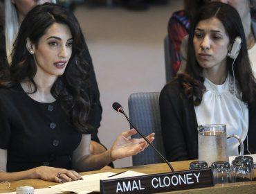 Conheça os principais processos defendidos pela poderosa Amal Clooney, expert em direitos humanos
