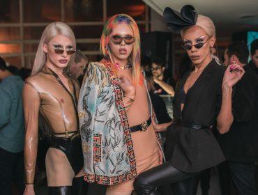 Agito dos bons  marca lançamento da coleção Vogue Eyewear by Gigi Hadid