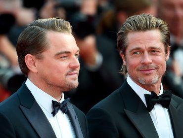 """Os """"chiliques"""" de DiCaprio são a melhor parte de """"Era Uma Vez em Hollywood"""", afirma Brad Pitt"""