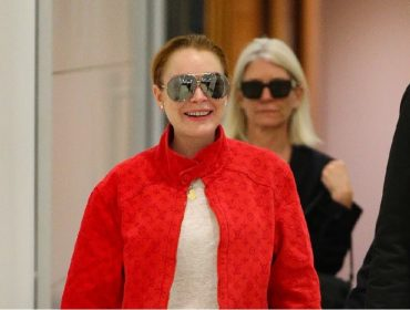 "Nova contratada de programa de TV da Austrália, Lindsay Lohan ""troca"" de idioma para o público local"