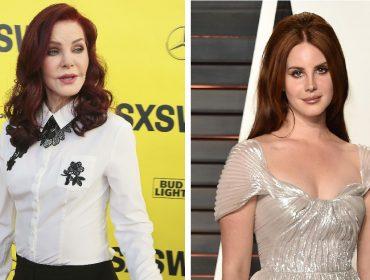 Priscilla Presley, viúva de Elvis, quer que Lana Del Rey a interprete na cinebiografia do rei do rock