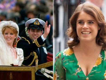 Princesa Eugenie posta foto para celebrar o aniversário de casamento de seus pais, que se divorciaram em 1996