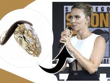 Conheça a diferentona Taffin, joalheria responsável pelo anel de noivado de Scarlett Johansson