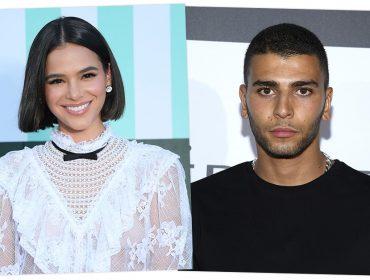 """Bruna Marquezine é flagrada com ex de Kourtney Kardashian e jornal chama a brasileira de """"sósia"""""""
