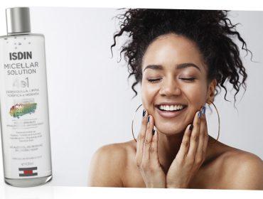 ISDIN apresenta solução micellar 4 em 1 que limpa, demaquila, tonifica e hidrata a pele