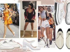 Sapato branco chegou mesmo para ficar! Stylist ensina como usar a tendência sem pisar na bola