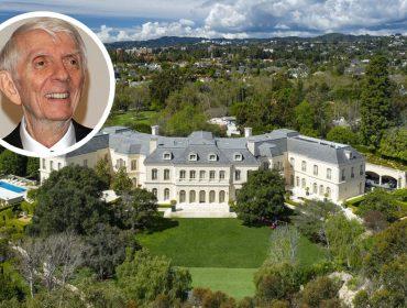Château de Aaron Spelling bate recorde imobiliário em LA ao ser vendido por 120 milhões de dólares