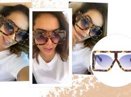 Em tempos de maxi óculos, Anitta bate recorde de extravagância com acessório de marca italiana