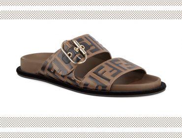 Desejo do dia: a sandália estilo slide da Fendi para deixar um rastro de sucesso no visual