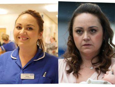 Depois de interpretar enfermeiras na telinha, atriz inglesa dá reviravolta na carreira e vai trabalhar em hospital