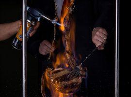 Novidade das casas Rubaiyat, Chuletón al Fuego é servido em chamas. Vem saber!