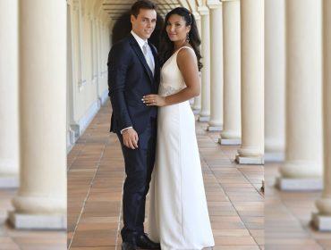 Filho da Princesa Stéphanie de Mônaco, Louis Ducruet se casa com amiga do colégio em local icônico