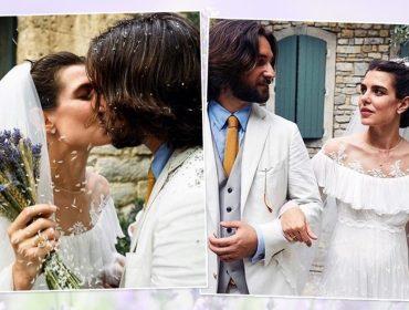 Casamento religioso de Charlotte Casiraghi e Dimitri Rassam é cercado de homenagens à família real de Mônaco