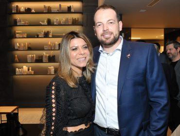 Camila Nunes Carneiro e Mateus Corradi recebem convidados na nova loja da Florense