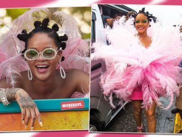 Rihanna não perde o Carnaval de Barbados e é do tipo que extrapola. Relembre os looks dela na folia