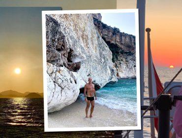 Giovanni Bianco, diretor de arte mais hypado do pedaço, curte merecidas férias na Sardenha. Aos cliques!