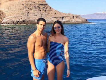 Enzo Celulari curte férias na Europa a bordo do mega-iate de R$ 321,2 milhões do sogro