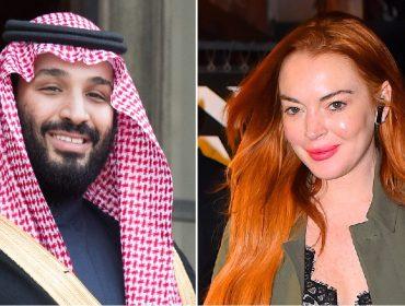Imprensa internacional vai à loucura com suposto romance entre Lindsay Lohan e príncipe herdeiro da Arábia Saudita