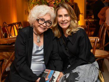 Nathalia Timberg comemorou seus 90 anos com festão no Rio