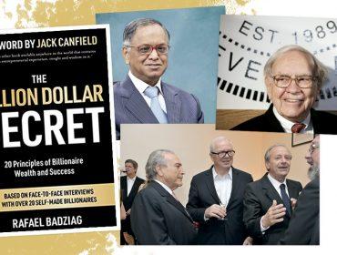 Quem quer ser um bilionário? Homens mais ricos do mundo contam como chegaram lá em livro