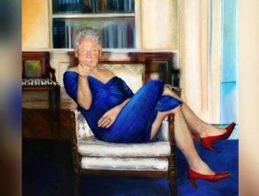 Jeffrey Epstein, que se suicidou na cadeia, mantinha quadro de Bill Clinton vestido de mulher em casa