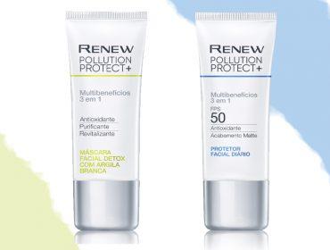Avon apresenta poderosa linha de tratamento 3 em 1 contra os efeitos da poluição e do Sol