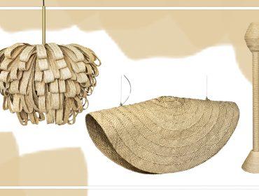 Nova coleção da La Lampe traz cinco luminárias feitas com folha de carnaúba. Vem conferir!