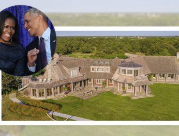 Novo lar: Michelle e Barack Obama estão comprando château de 60 milhões à beira-mar… Vem ver