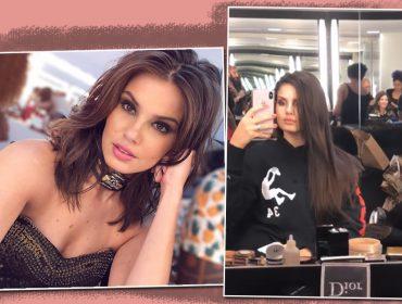 Camila Queiroz muda o visual de novo e aparece com cabelo supercomprido. E aí, curtiu?
