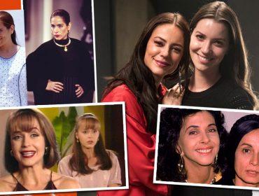 """Assim como Fabiana e Vivi Guedes, de """"A Dona do Pedaço"""", Glamurama relembra as irmãs invejosas que fizeram sucesso nas novelas"""