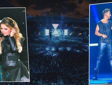 Sandy e Junior cantam, dançam e encantam em shows de São Paulo…Glamurama estava lá!