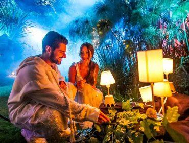 Em clima de romance, Alok grava clipe da música 'Table For 2', o primeiro com participação da mulher, Romana