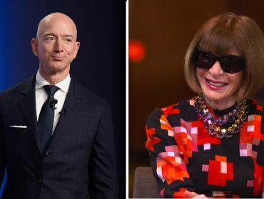 Anna Wintour e Jeff Bezos se encontrarão no próximo dia 17 de novembro. Aos detalhes!