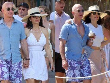 Homem mais rico do mundo, Jeff Bezos só quer saber de usar o mesmo short em suas férias na Europa