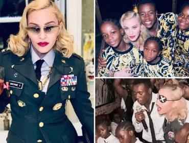 Festa de aniversário de Madonna teve muita pizza e karaokê com músicas de Elton John. Aos detalhes!