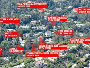 """Conheça o """"Vale Escondido"""", condomínio de luxo eleito por várias celebs de Hollywood. Saiba quem mora lá!"""