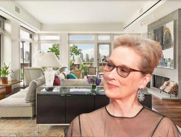Cobertura de Meryl Streep à venda em NY ganha desconto e agora pode ser sua por R$ 75 mi. Às fotos!