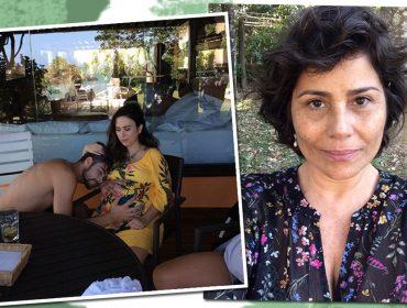 """Valéria Alencar, mãe de Rafa Vitti, manda recadinho para o filho prestes a ser pai: """"Bom dia de quem nem sabe o que lhe aguarda!"""""""