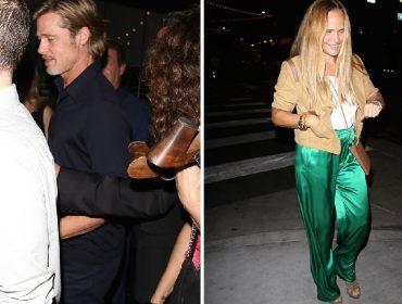 Brad Pitt foi flagrado novamente na companhia de guru espiritual com quem estaria vivendo um affair