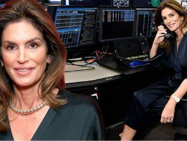 Cindy Crawford vira operadora da bolsa de NY e fecha negócios bilionários em prol das vítimas de desastres