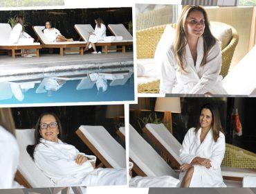 Glamurama armou day spa para uma turma de glamurettes no Four Seasons Hotel São Paulo