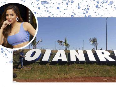Letreiro de cidade de Goiás é adulterado e vira homenagem para Anitta…Vem entender!
