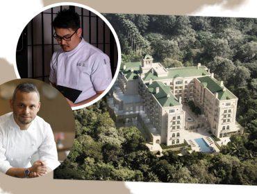 A quatro mãos: Chef Felipe Rodrigues convida Tadashi Shiraishi para menu especial no Palácio Tangará