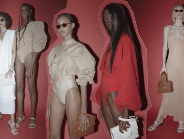 As cariocas Escudero e Haight lançam collab inspirada em formas minimalistas e cartela de cores sóbria