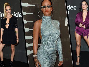 Show de estilo no desfile da Savage X Fenty, marca de lingerie de Rihanna. Vem espiar os looks!