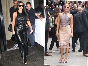 Kim Kardashian e JLo usam mesma blusa de R$ 10,5 mil assinada por Tom Ford… E a peça já está esgotando!