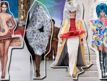 Semana de moda que se preze tem que ter loucurinhas e esquisitices nas passarelas… Confira o que tem rolado aqui… e agora!