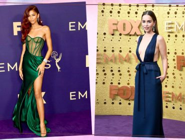 Zendaya e Emilia Clarke mudam o estilo para o Emmy e apostam em looks pra lá de sensuais